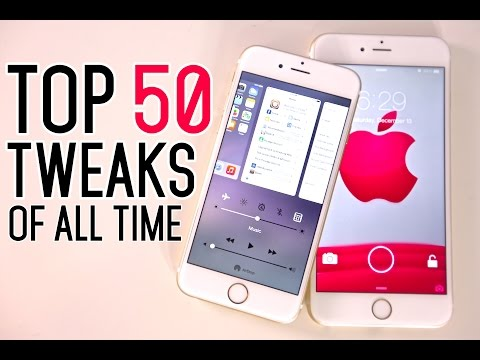 Top 50 iOS 8 Cydia Tweaks Of ALL Time - 8.1.2 & 8.1.1 TaiG Jailbreak Compatible