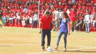 Sultan Salman Khan vs millionaire nita ambani Football Match | Awesome Goals