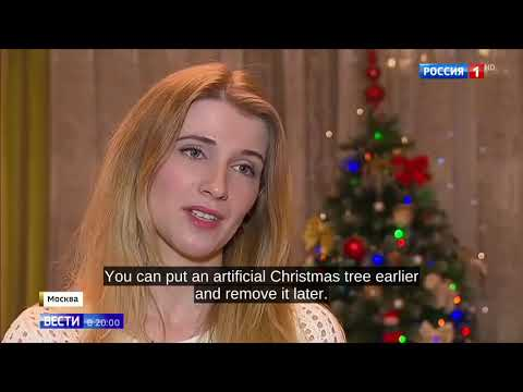 MERRY CHRISTMAS: How Russians Choose And Decorate Their Christmass Tree