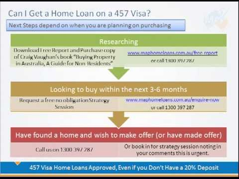 Can I Get a Home Loan in Australia on a 457 Visa
