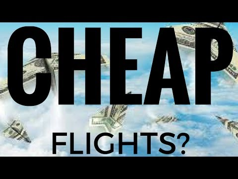 HOW TO GET CHEAP FLIGHTS - LEARN MORE BELOW!