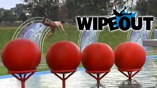 Top 5 Big Red Ball Fails | Wipeout HD