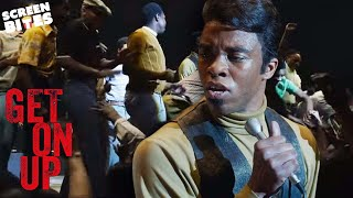 Stopping a Riot | Chadwick Boseman in Get On Up | SceneScreen
