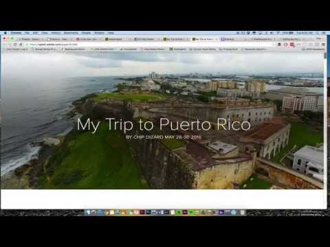 How to use Adobe Spark Page