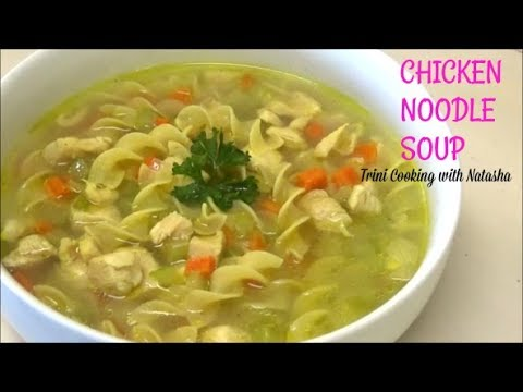 Chicken Noodle Soup -collab with Matthew Guyanese Cooking - Episode 497