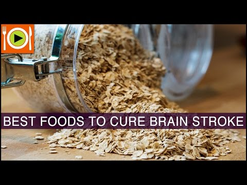 Best Foods to Cure Brain Stroke | Including Fiber, Low Fat Foods & Omega 3 Rich Foods