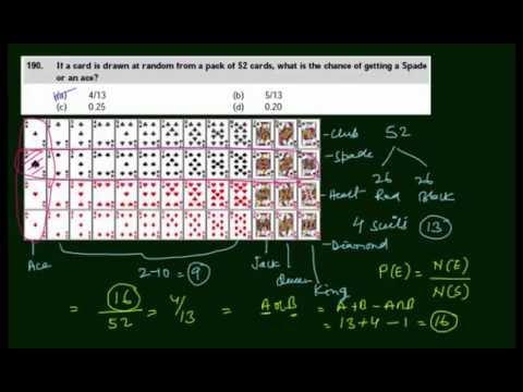 CA-CPT - Probability of a random event - Probability - Q0140 (in Hindi)