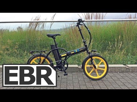 Ness Rua Video Review - $1.4k Sturdy Folding Electric Bike, Fenders, Rack, Lights