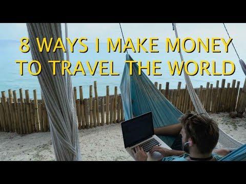 HOW I MAKE MONEY ONLINE TO TRAVEL THE WORLD