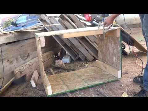 Building a Firewood Storage Box