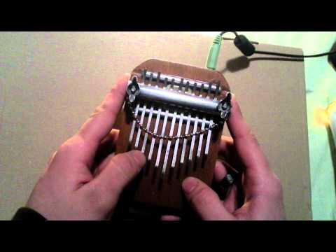 Little home made electric kalimba