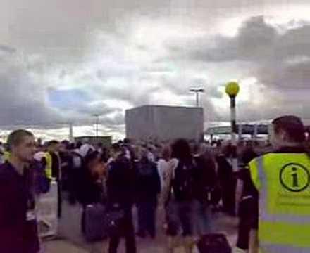 London/Heathrow Terminal 4 evacuation, July 3, 2007