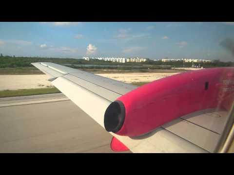 Landing in Key West, Florida