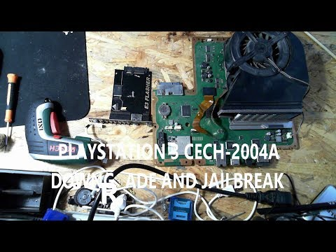 PLAYSTATION 3 CECH-2004A DOWNGRADE AND JAILBREAK USING E3 FLASHER