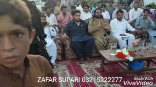 ZAFAR SUPARI chief guest cricket tournament khanpur taxila