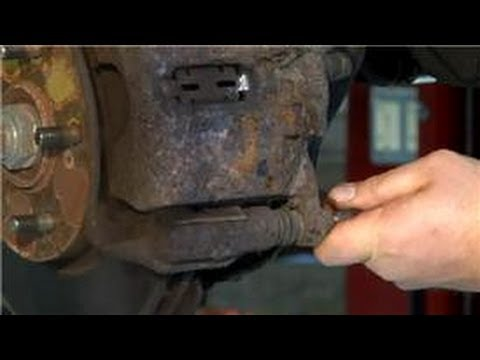 Auto Repair Tips : Removing Rusted Brake Pins