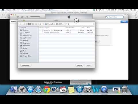 How To Downgrade From iOS 7 To 6.1.3 & 6.1.4 - iPhone, iPod Touch & iPad