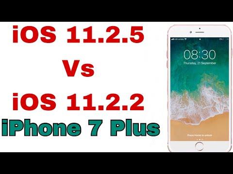 iOS 11.2.5 vs iOS 11.2.2 speed test on iPhone 7plus | Techviewer