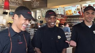 Tim Hortons employees leave customers with a smile