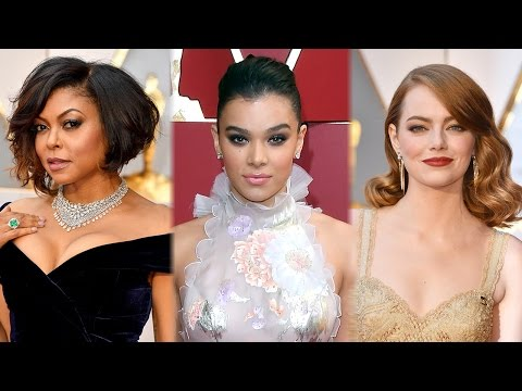 7 BEST Celeb Hairstyles On The 2017 Oscars Carpet