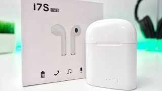 Fake $26 AirPods From Amazon: Unboxing & Review [TWS-i7s]