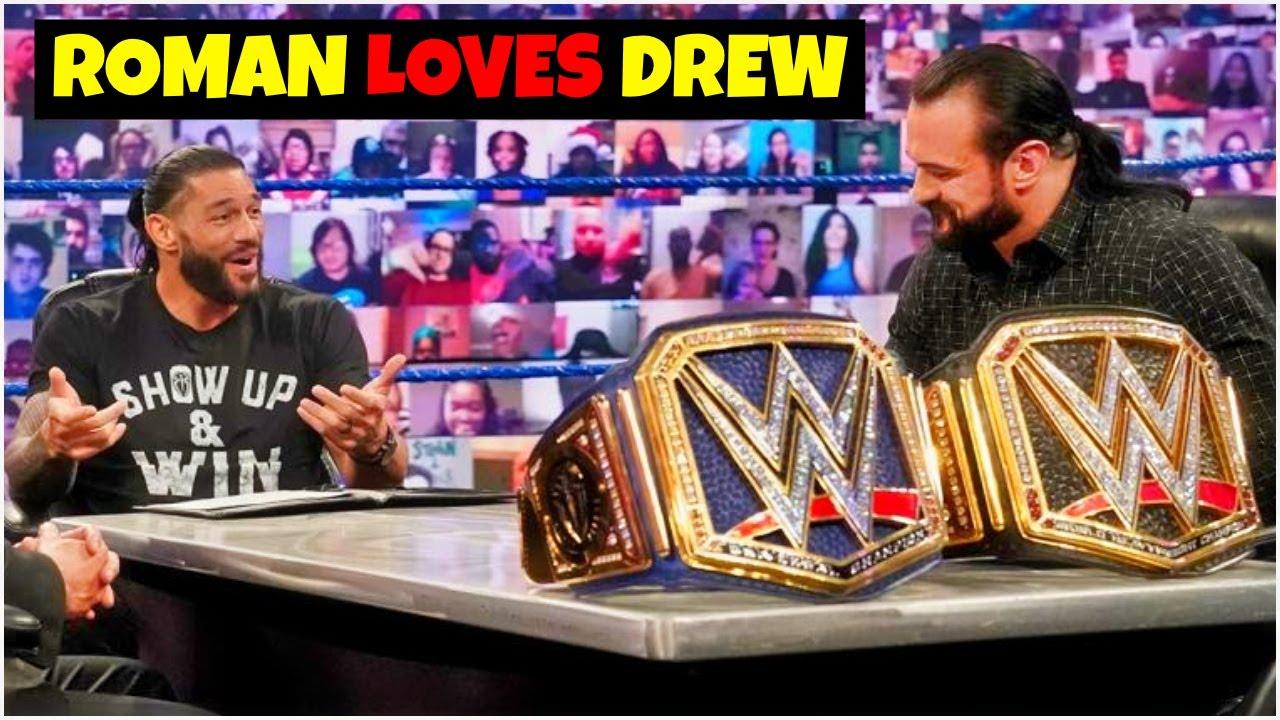 Roman Reigns LOVES Drew Mcintyre ? DOUBLE CHAMPIONSHIP Match At Survivor Series 2020 ?