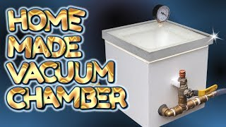 Download home made SIMPLE BUILD vacuum chamber - by VegOilGuy Video