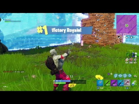 15 KILL SOLO WIN EPIC FINISH!! - Fortnite Battle Royale