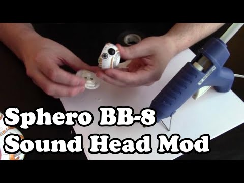 🤖 BB-8 Sphero Head Mod (Dr. NOOB's Lab)