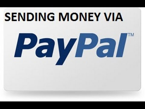 Sending money via PayPal
