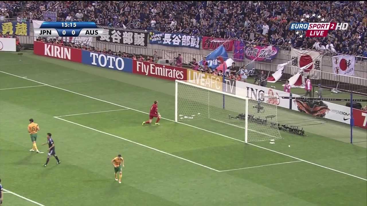 Japan vs Australia - 2014 FIFA World Cup qualification - AFC 4th Round