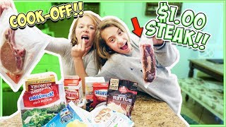 $ DOLLAR STORE $ MEAL CHALLENGE!! COOK-OFF