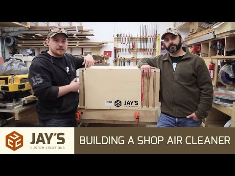 Build A Shop Air Cleaner - 237