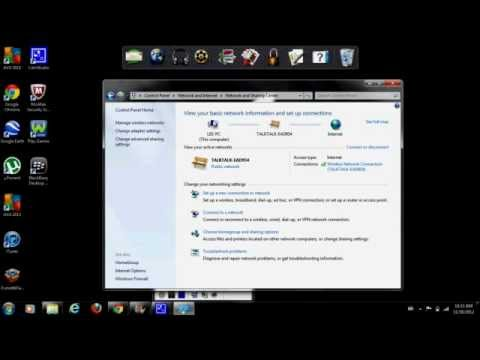 How to find network key on windows 7