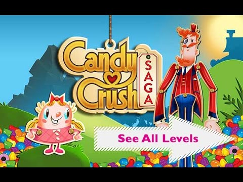 How to Unlock all Level of Candy Crush Saga