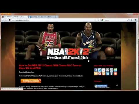 NBA 2K12 Classic NBA Teams DLC Unlock Tutorial - Xbox 360 - PS3