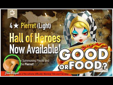 SUMMONERS WAR : Eva the Light Pierret Hall of Heroes Announced - Good or Food?
