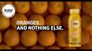 Raw Pressery | Orange | And Nothing Else