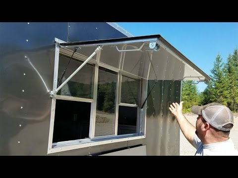 Food Trailer - Concession Window - Montana Trailer MFG.