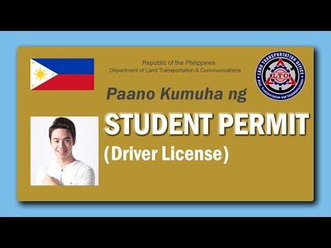 PAANO KUMUHA NG STUDENT DRIVER'S PERMIT SA LTO