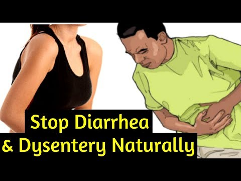 How to stop Diarrhea and Dysentery with Home Remedies