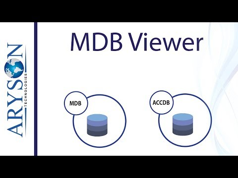 How to Open Access Database from MDB & ACCDB File Using MDB Viewer