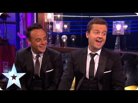 Ant and Dec talk Final talent | Britain's Got More Talent 2014