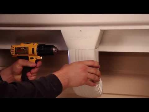 Wide Mouth Gutter Outlet Installation | Raindrop® Gutter Guard