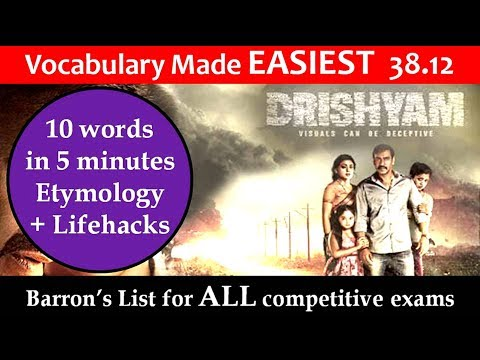 vocabulary made easiest 38.12 learn etymology by puneet biseria in hindi
