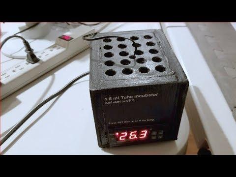 DIY test tube heater block