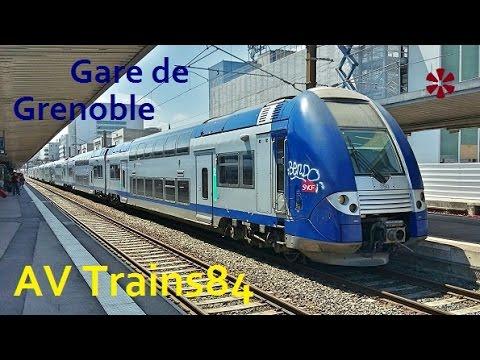 Retour en gare de Grenoble pour quelques trains...