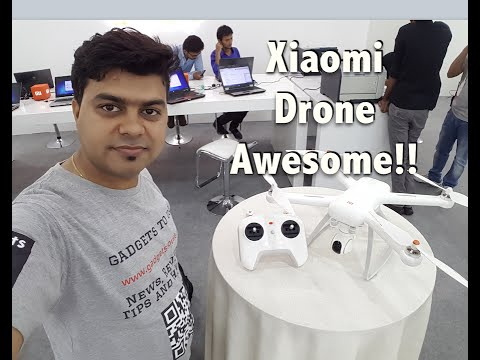 Hindi | Xiaomi Drone India Hands on, I Want One, But How Do I Get It?