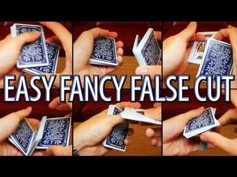 Easy Fancy False Cut Tutorial