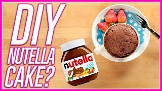 Microwave Nutella Cake?! | Microwave Meals with Mackenzie Marie